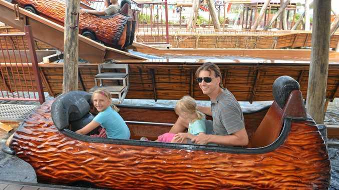 Aussie World's Plunge water ride will reopen this weekend.