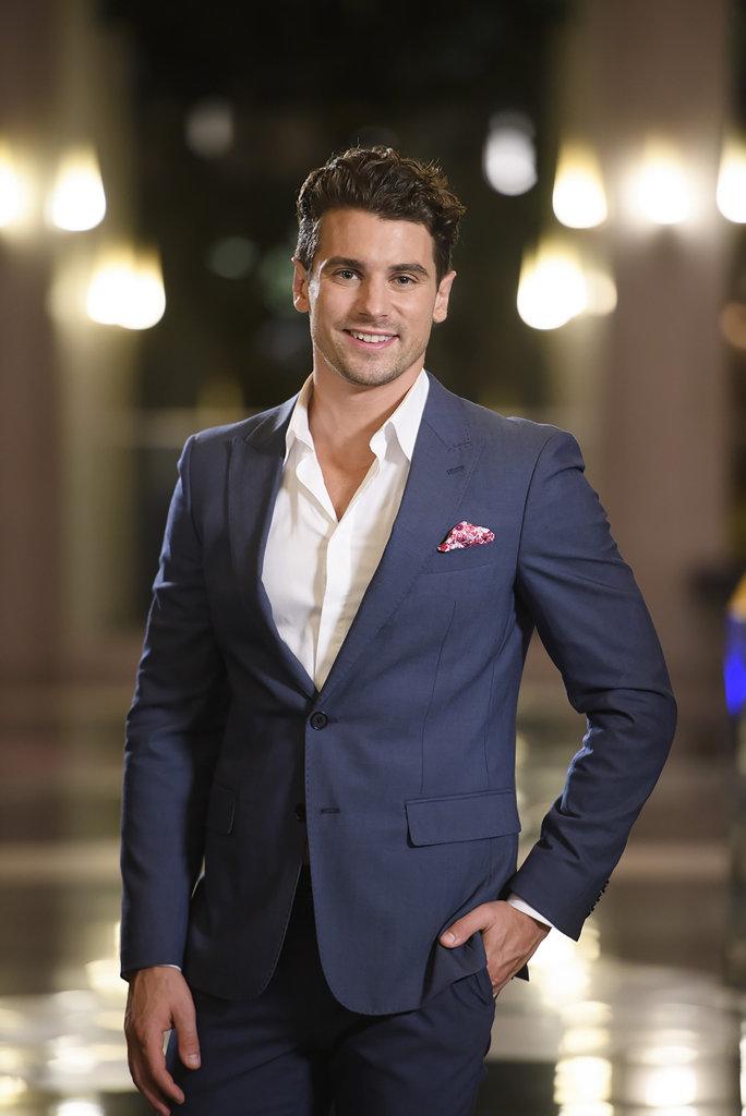 The Bachelorette runner-up Matty Johnson.