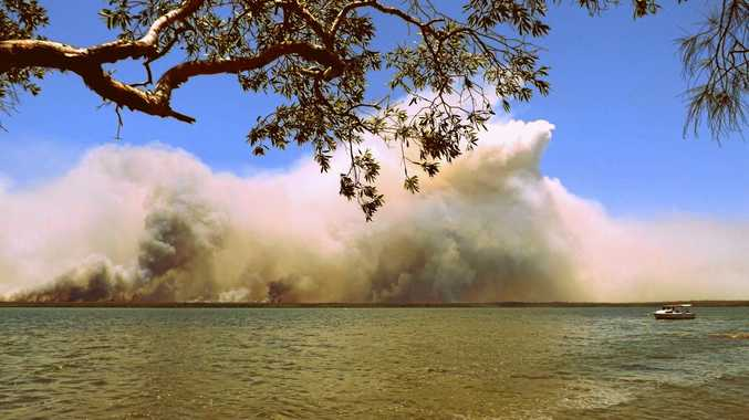 This past Noosa North Shore bushfire shows how unforgiving nature can be in summer.