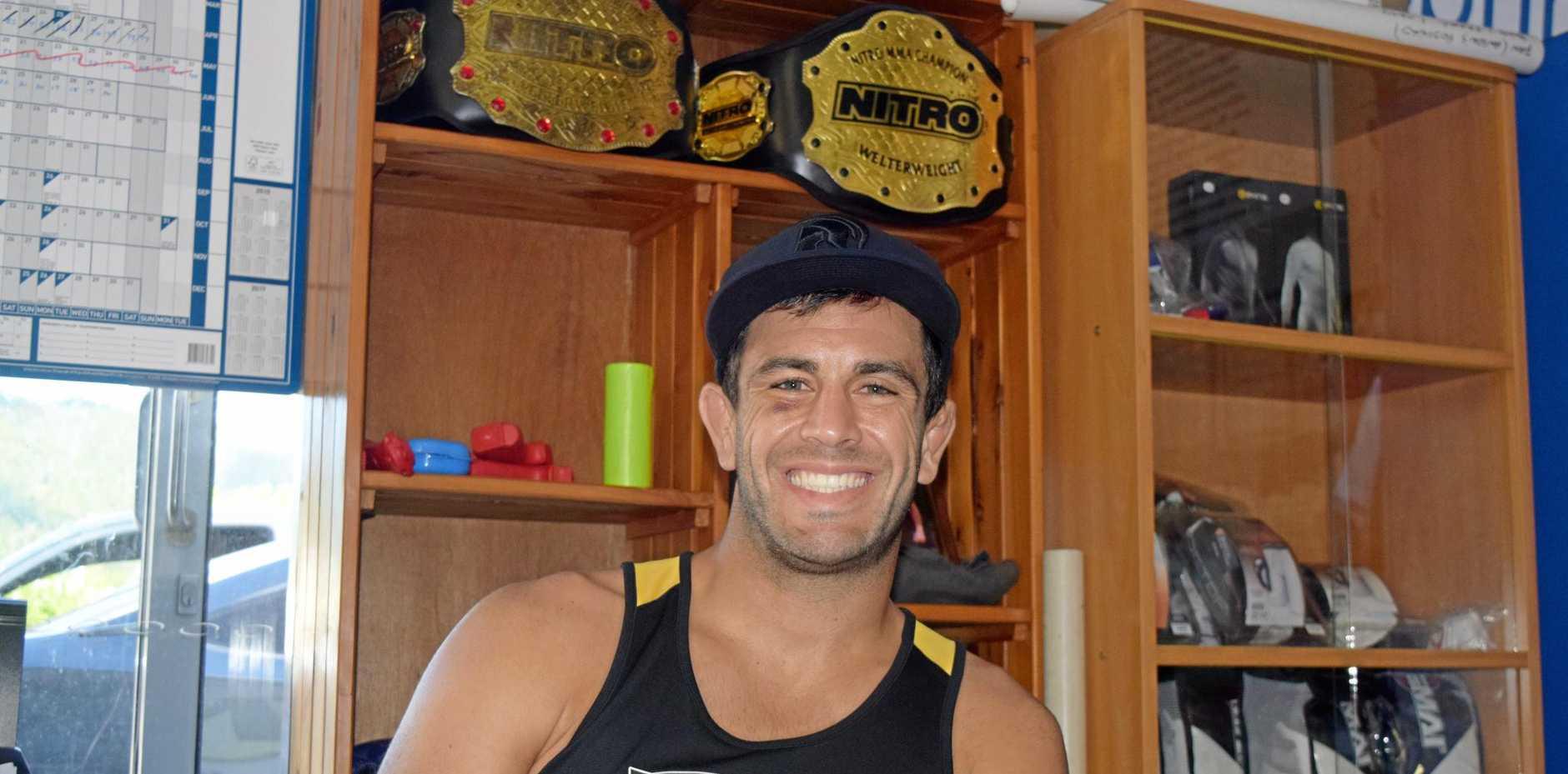 DEDICATION: Teacher and MMA fighter Anton Zafir loves the Whitsundays.