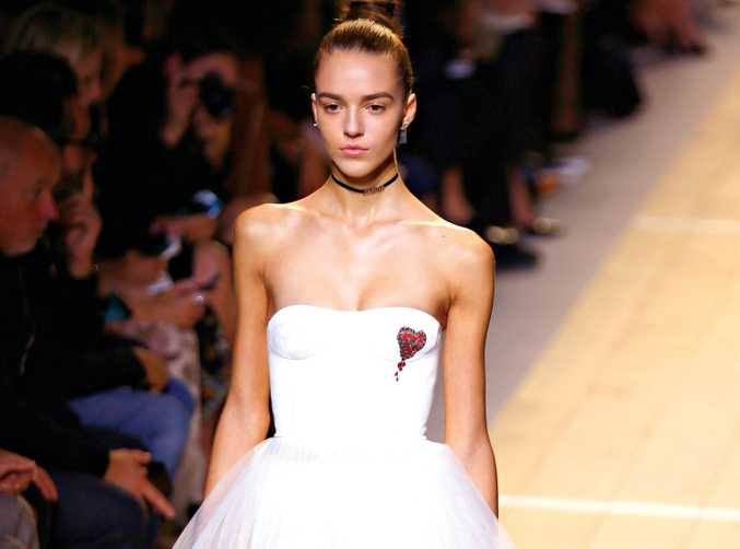 Christian Dior offers inspiration for our inner ballerinas with tulle front and centre.