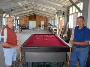 Men's Shed a place for support, laughs