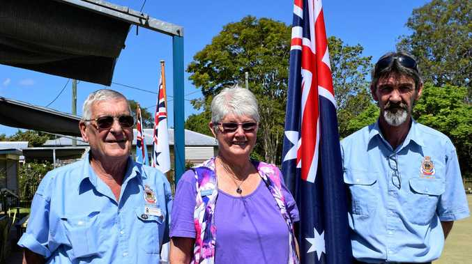 At the Veteran's Health Week Celebrations at Imbil Bowl's Club last week are committee members of the Mary Valley RSL Sub Branch Phil and Viv Jensen with president Rex Brenneke.