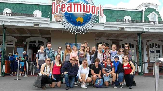 FUN TIMES: School groups from around Australia frequently travel to Dreamworld for excursions.