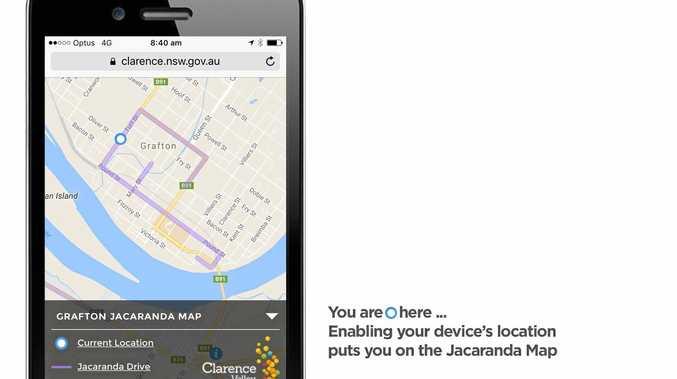 JACA TRAIL: The new map app.