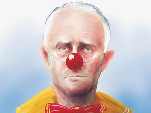 Depicting Malcolm Turnbull as a clown worth the fallout