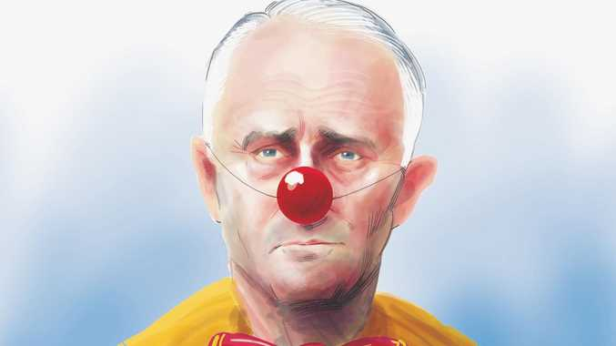 The Chronicle and other 11 regional newspapers published a cartoon depicting Malcolm Turnbull as a clown.