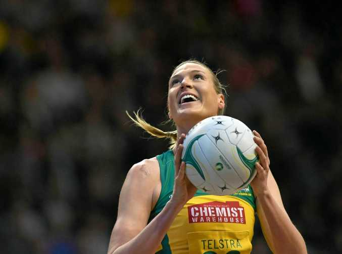 KEY PLAYER: Caitlin Bassett of the Australian Diamonds will play for the Sunshine Coast Lightning.