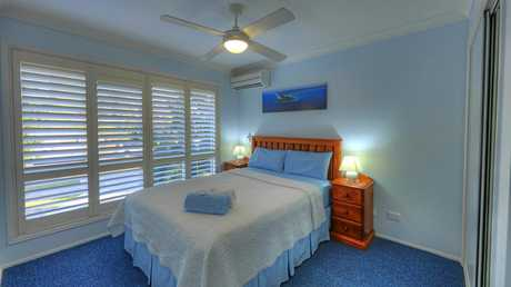 Debbie's Place at Rainbow Beach has been rated the top accommodation provider in the Gympie region.