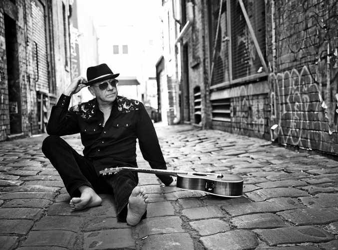 Australian music legend Russell Morris.