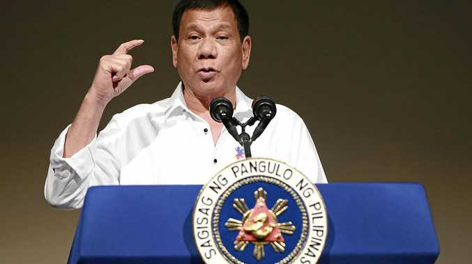 Philippine President Rodrigo Duterte has major ally the US in his sights.