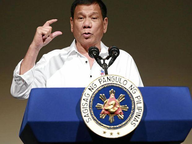 Philippine President Rodrigo Duterte has major ally the US in his sights.