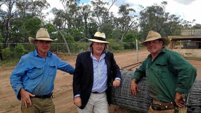 South-West NRM chair Mark O'Brien with Scott Sargood and Allan Cann.