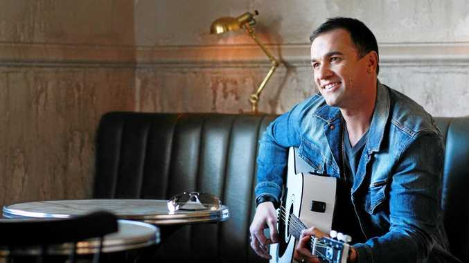 The singer Shannon Noll.