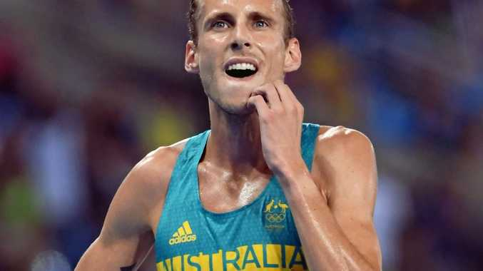 ON THE ENTRY LIST: Ryan Gregson of after the 1500m final at the Rio Games. He's set to race in the Noosa Bolt on Saturday.