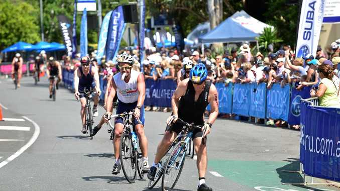 BUSY TIMES: There will be roads closed for the Noosa Triathlon Multi Sport Festival.