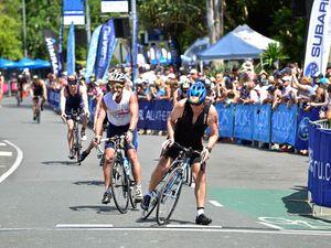 Road closures for triathlon multi sport festival