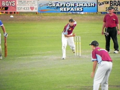 ON THE MARK: Brothers captain Jake Kroehhnert took 3 for 16 off 5 overs in his side's round three win under lights on Wednesday night.