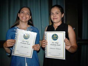 Girls aiming high at RSC's awards night