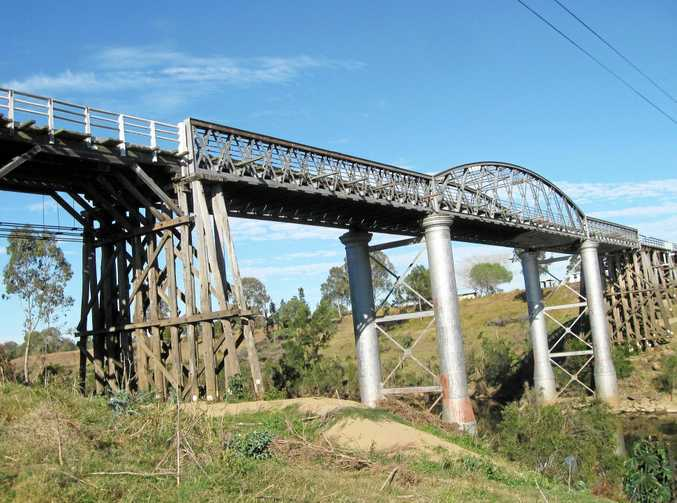 BIG CHANGES: The proposed coal mine could see the revival of the defunct Kingaroy rail line, potentially leaving the future of the Dickabram Bridge in doubt.