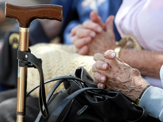 Voluntary euthanasia meeting at Cotton Tree Park.