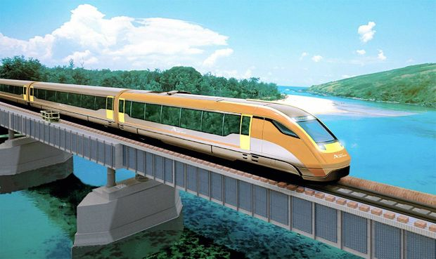 A concept image of the new XPT train.
