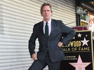 Hugh Laurie receives star on Hollywood Walk of Fame