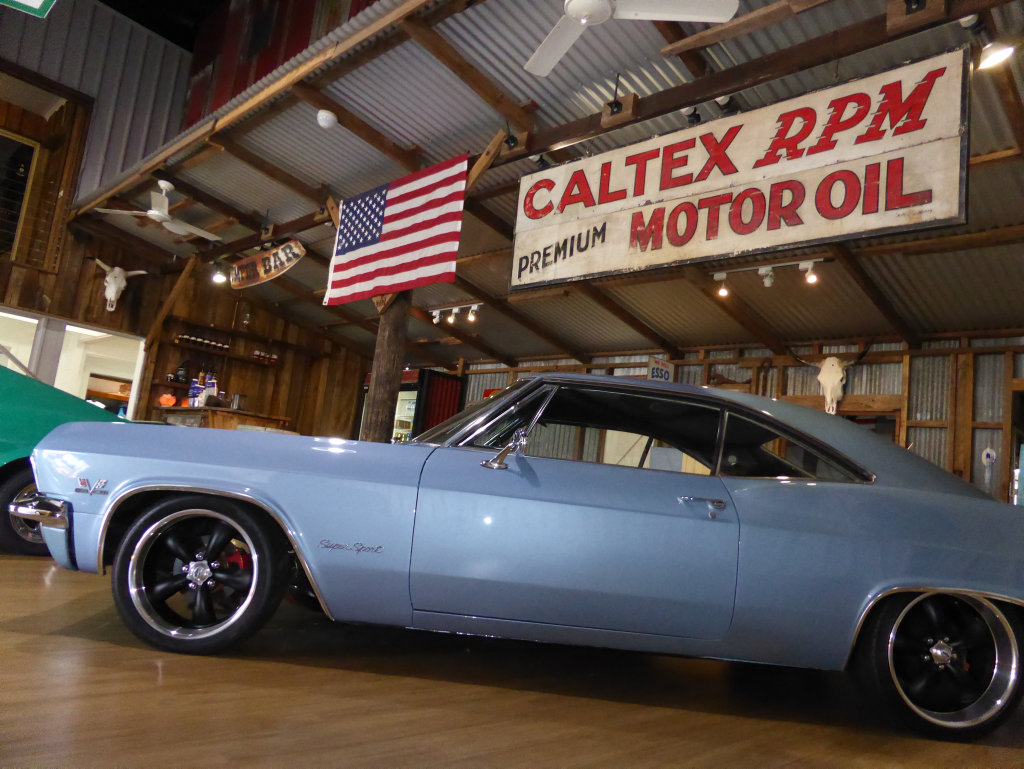 1965 Chevrolet Impala SS at Adults Only Car Shop new showroom in Maroochydore. Photo: Iain Curry / Sunshine Coast Daily