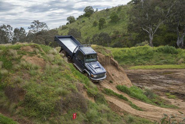 2016 Toyota LandCruiser 70 Series at Mount Cottrell, Victoria