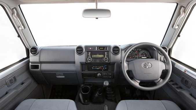 2016 Toyota LandCruiser 70 Series GXL interior