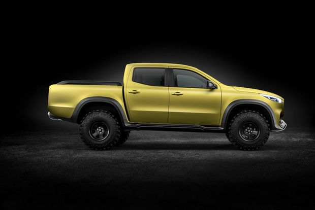 NEW CHALLENGER? Would Mercedes-Benz like to race its Concept X-Class?