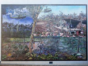 Newest Maryborough mural honours Long Tan veterans