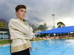 WATCH: Teen's death defying stunt