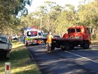 CRASH: A motorist has lost their life after their motorcycle hit a tree on Old Toogoom Rd just after 3pm on Friday.