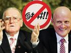 Christian Democrat leader Fred Nile and Liberal Democrat Senator David Leyonhjelm have very different ideas on cuss words.