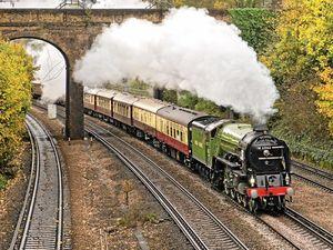 Take a train trip back in time