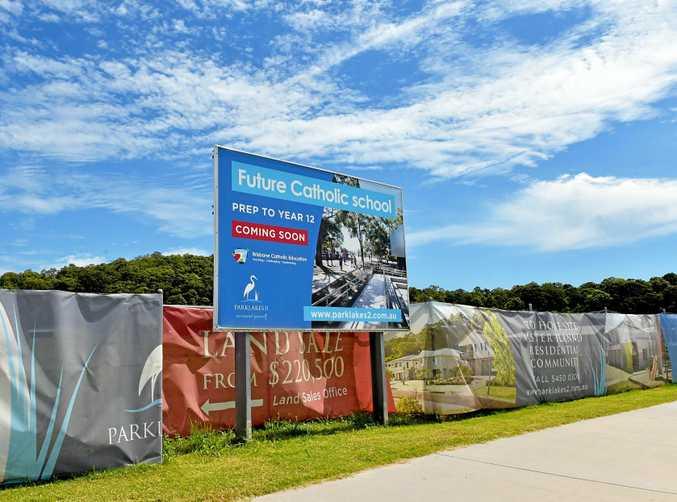 Brisbane Catholic Education plans to build a new school at Bli Bli.