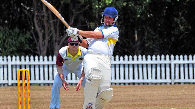 WILL BE MISSED: Nambour batsman Steve Ledger is away this weekend.