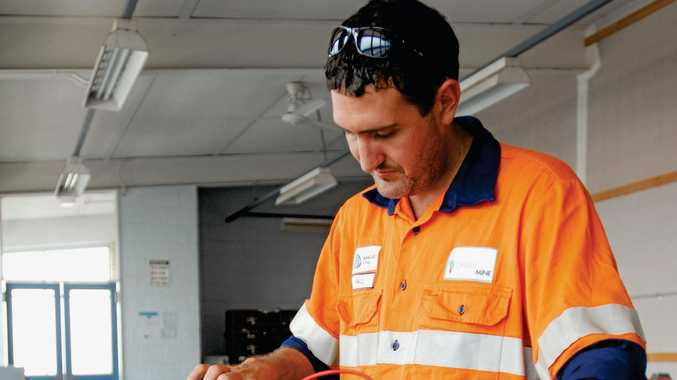 TRAGEDY: 36-year-old electrician Paul McGuire died after inhaling fatal air at Grasstree mine.