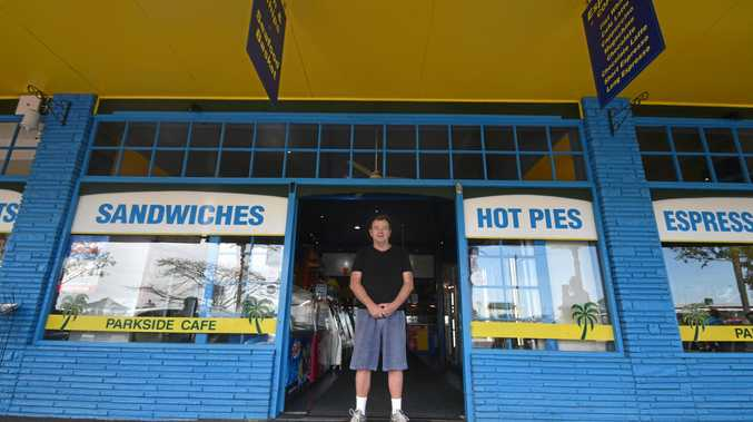 PIT STOP: Doug Rowan stands outside the 24-hour Parkside Cafe in Woodburn that he's owned and run for 18 years.