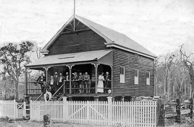GOOD AS NEW: Built in 1911, the Noosa Museum in Factory St, Pomona, was Noosa Shire Council's original chambers.
