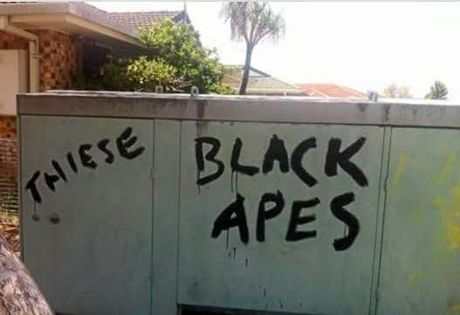 Police are appealing for information about racist vandalism painted on footpaths and a fence at a Ballina address. The incident is believed to have occurred on the evening of October 24 and the morning of the 25th.