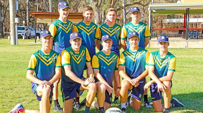 Rockhampton Touch Association's representatives who will travel to New Zealand for the Youth Trans Tasman series.