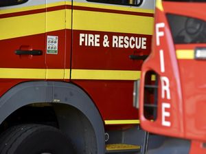 Four units rush to hay fire on the Eastern Downs