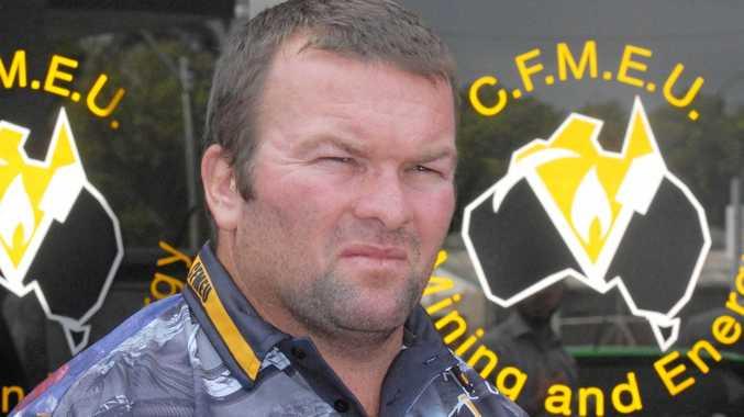 The CFMEUs Steve Smyth:
