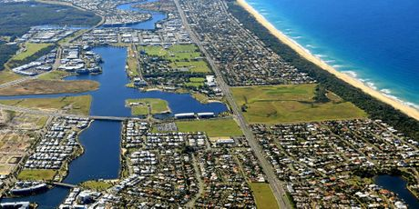AT LAST: Stockland's long awaited master planned mini-city, Bokarina Beach, is about to get under way.