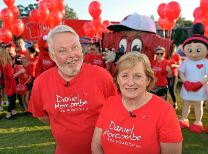 Bruce and Denise Morcombe at the 2016 Walk for Daniel.