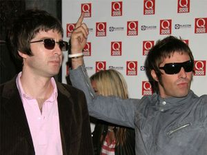 Former Oasis frontman threw popcorn at his brother