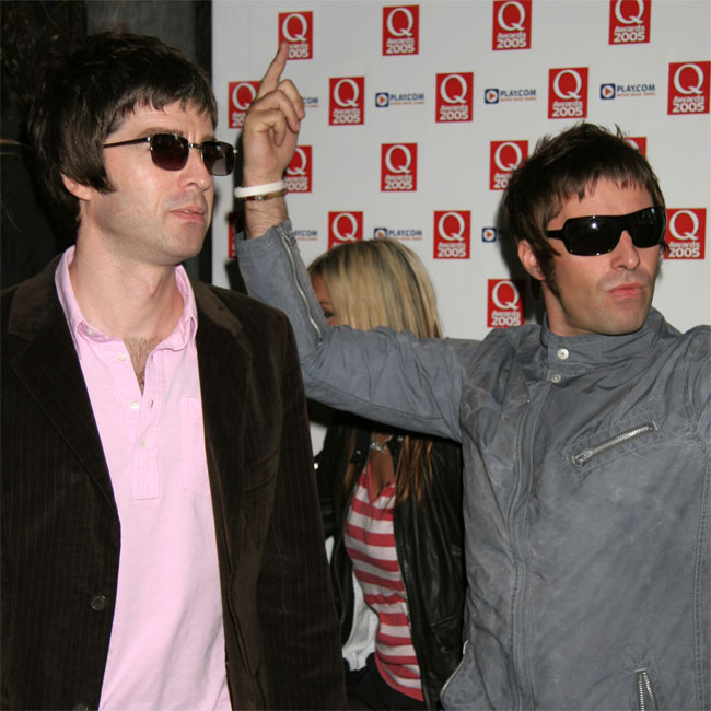 The Gallagher brothers have famously feuded for many years.
