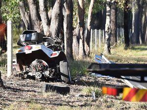 Woman in critical condition, man dead after Torbanlea crash
